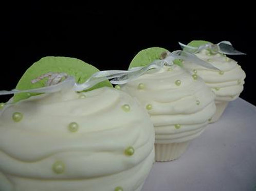 Key Lime Pie Soy Cupcake Candle