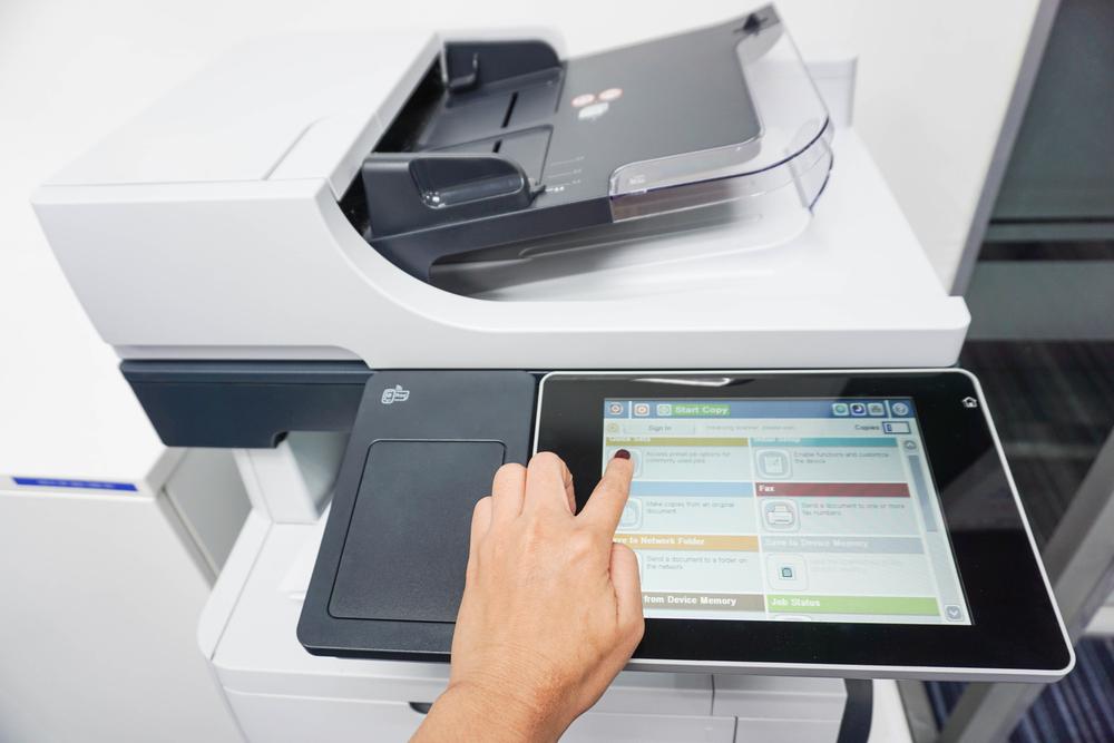 Οθόνη ψηφιακού εκτυπωτή