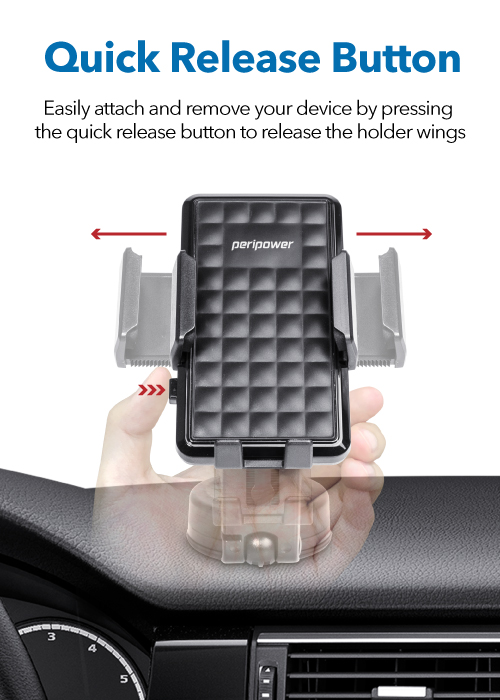 MT-D14​ Dashboard Sticky Mount with Smartphone Holder