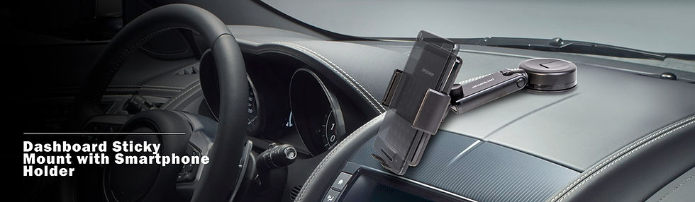 Peripower dashboard sticky mount with smartphone holder