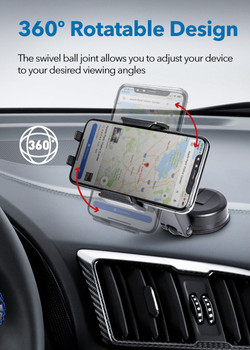 MT-D14 Dashboard Sticky Mount with Smartphone Holderble Arm Dashboard Mount