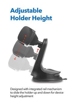 MT-D12 Height Adjustable Dashboard Mount