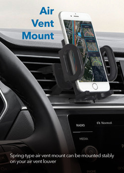 MT-W08 2 in 1 Windshield & Air Vent Mount Kit