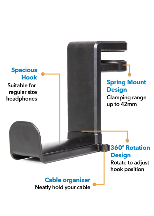 Peripower MT-AM05 Headphone Holder Holder