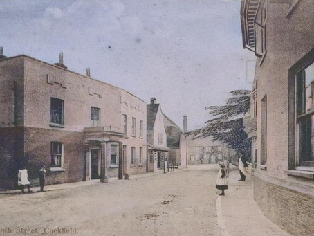 1900: Celebrity writer recognised on visit to Cuckfield ...