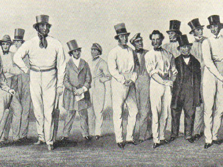 1845: Cricket Competition and sporting fellowship in Cuckfield