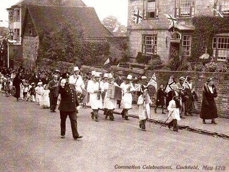 1937: Cuckfield marks the Coronation of George VI with a day of celebrations
