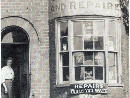 1939: Cuckfield Cobbler reflects in verse on Victorian village life.....
