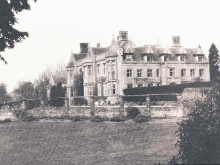 1971: In celebration of Cuckfield Park, built 400 years ago....