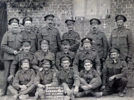 1915: Cheery letter to Cuckfield from the front line 'I for one am happy here'