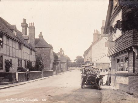 1907: Reckless motoring in Cuckfield endangers locals