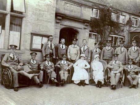 1914: Cuckfield Home for Belgian refugees