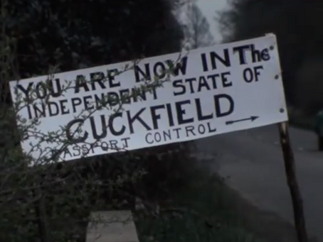 1975: The Independent State of Cuckfield 'has a bone to pick' with West Sussex Council....