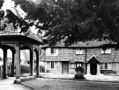 1938: Memorials and two Lychgates in Historic Cuckfield Church