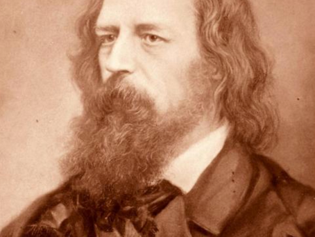 1851: Poet Laureate Alfred Lord Tennyson and his wife flee from 'haunted home' near Cuckfield