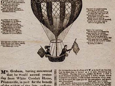 1824: Audacious aeronauts land in Cuckfield and receive warm welcome at the Kings Head