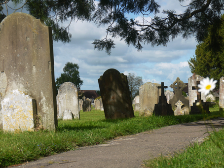 1858: Unmarked cross mysteriously placed in Cuckfield cemetery