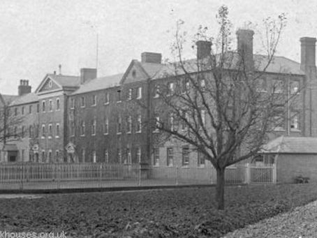 1880: Cuckfield Workhouse inmates destroy 'worn out' clothes to be 'rigged out afresh'...