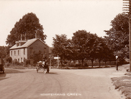1903: Fine for drunk and disorderly duo at Whiteman's Green: 'disgraceful behaviour' punished
