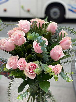 20 Rosas Rosa Bouquet