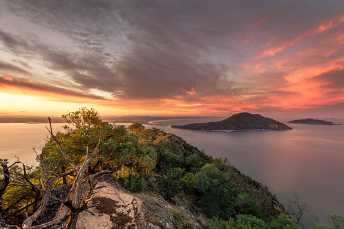 sunset Mt Tomaree, sunset, hike, mount tomaree, walk, national park