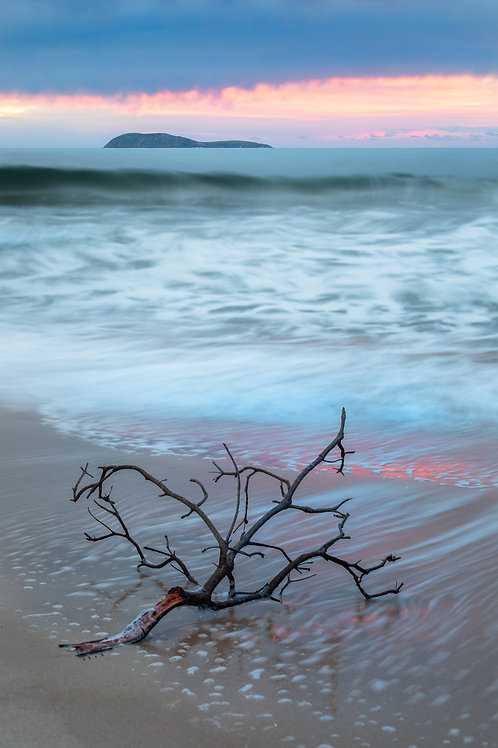 box beach, boxy, shoal bay, box beach sunrise