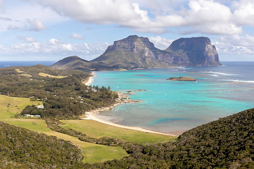 """""""Turquoise Dreams"""", Kim's Lookout, Lord Howe Island"""