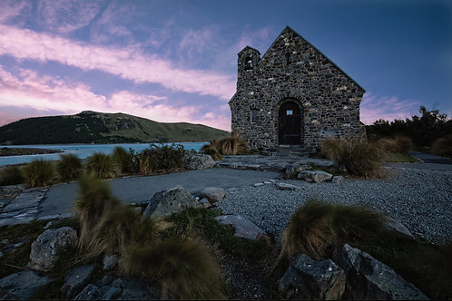 church of good shepherd, lake tekapo, new zealand, south island