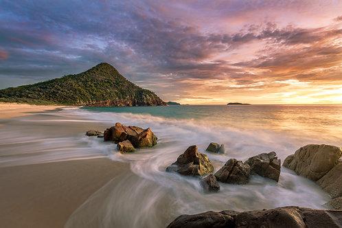 """True Colours"", Zenith Beach, Shoal Bay, Port Stephens"