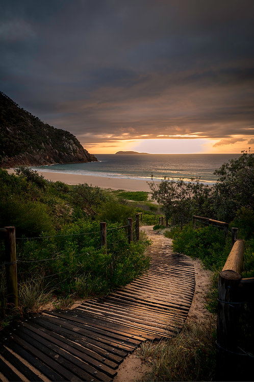 zenith, path, leading line, sunrise, sunset, beach