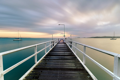 jetty, bannisters, sally shores, rick stein, sunrise jetty