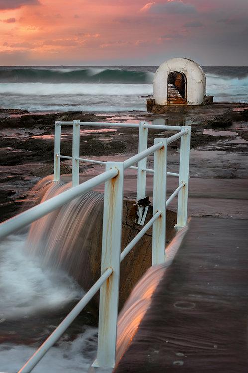 pump house newcastle, ocean baths, cowrie hole