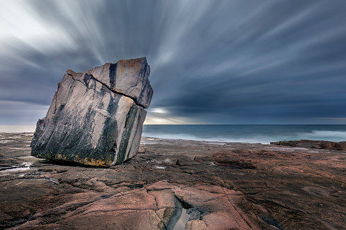 rock, long exposure, cloud, streaky, rocks, geology