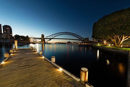 harbour, Sydney harbour bridge, jetty, pier, mcmahons point, lavender bay