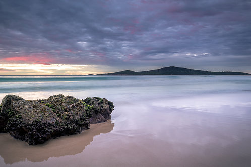 fingal, fingal spit, pano, water, sunrise, sunset, canon, images