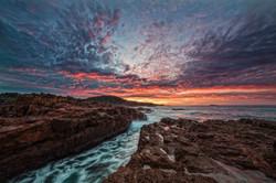 Big Rocky Sunrise