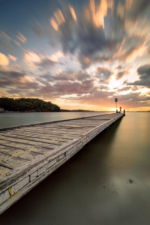 """""""Gone Fishing"""", Little Beach, Port Stephens"""