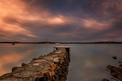 secret jetty, jetty, sunrise, sunset