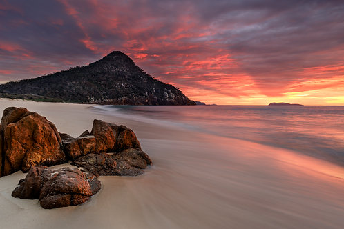 country club, shoal bay, pano, water, sunrise, sunset, canon