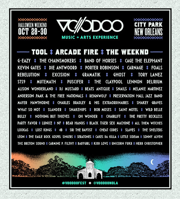 VOODOO FEST | REGARDING FRESH | RE:FRESH