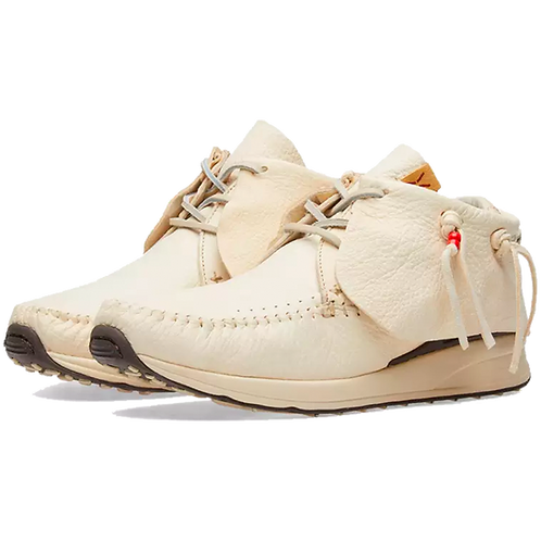 VISVIM FBT RD LEATHER OFF WHITE