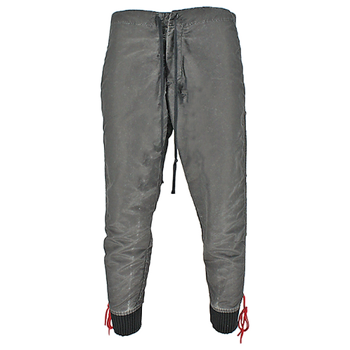 GREG LAUREN WASHED SATIN STACKED LOUNGE