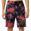 Thumbnail: JOHN ELLIOTT SOLAR BOARD SHORTS BOUGAINVILLEA BLACK