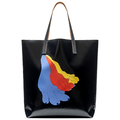 MARNI SHOPPING BAG TOTE BY ARTIST BRUNO BOZZETTO
