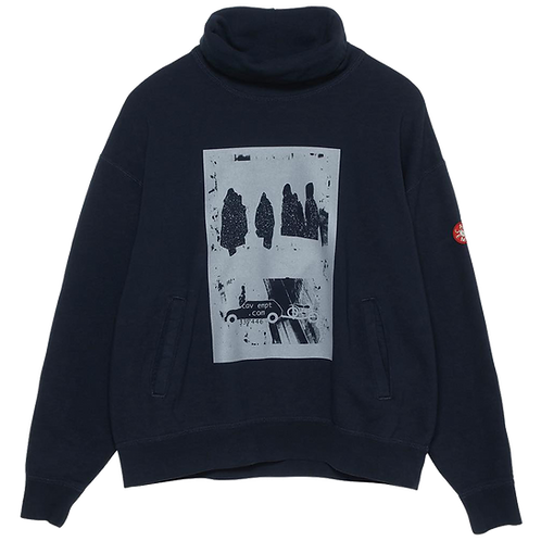 CAV EMPT STAND COLLAR SWEAT