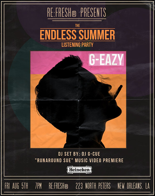 REGARDING FRESH | RE:FRESH | NEW ORLEANS | G_EAZY | ENDLESS SUMMER