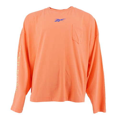 REEBOK BY PYER MOSS LONG SLEEVE T-SHIRT (PINK)