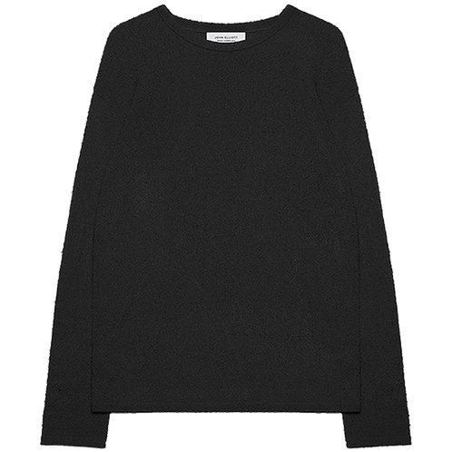 JOHN ELLIOTT PIGTAIL CREW SWEATER BLACK