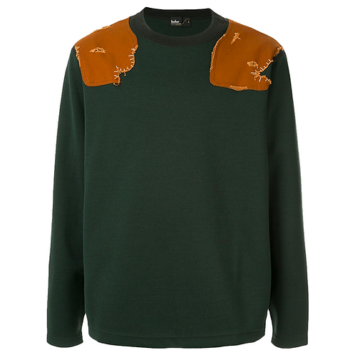 KOLOR HUNTER CREW SWEATER
