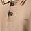 Thumbnail: KOLOR ASYMMETRIC POLO SHIRT BEIGE